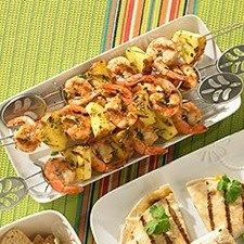 Chef Glenn Lyman shares his recipe for shrimp on the grill... This recipe is perfect for Cinco de Mayo!