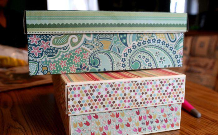 Для того, чтобы украсить коробку, не обязательно быть декоратором