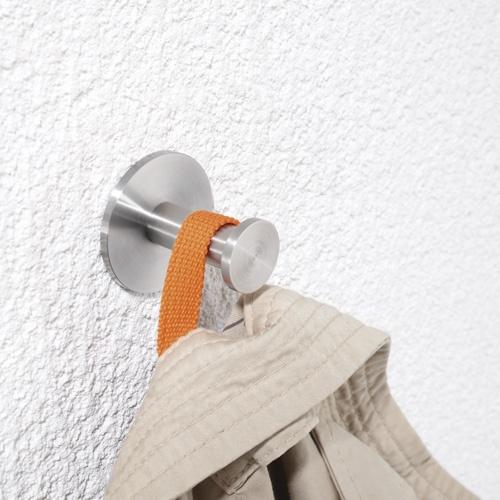Neue Edelstahl Kleiderhaken/Garderobenhaken. http://www.phos.de/pdf_download/Produktinformationen2012/Kleiderhaken_Garderobenhaken_Edelstahl-Design-PHOS_HG1630_HG20-40_HG20-70_Produktinformation.pdf