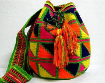 Authentic Wayuu Mochila Bag