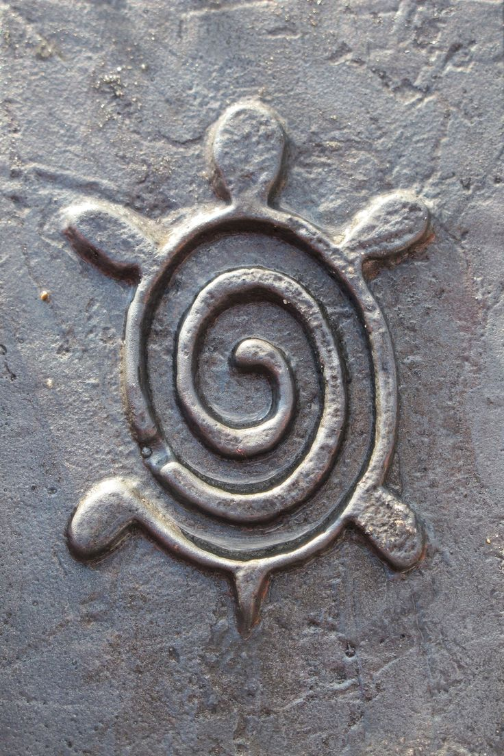 Spiral Turtle #petroglyph