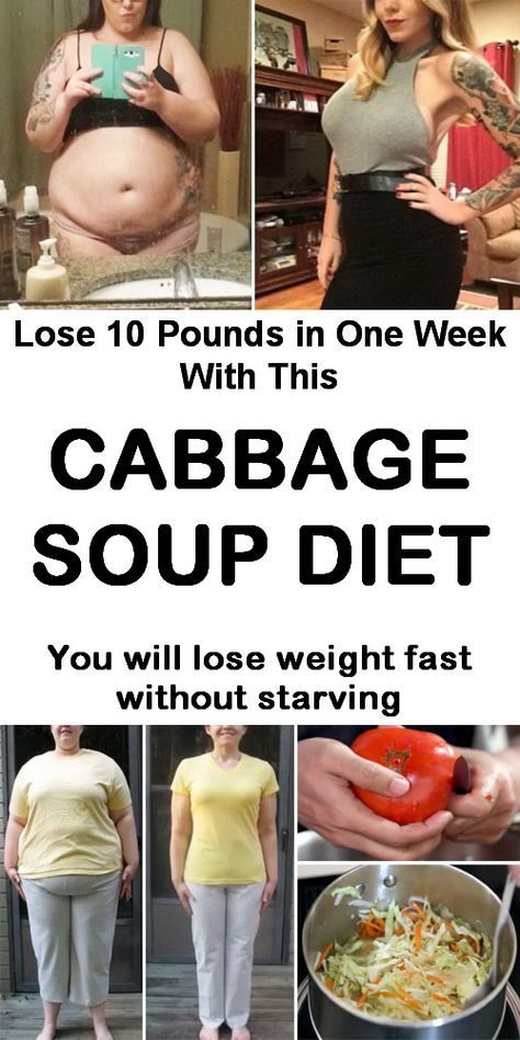 Lose 10 Pounds in One Week With This Cabbage Soup Diet