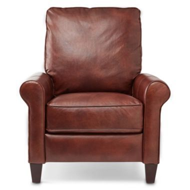 petite leather recliner found at jcpenney my furniture. Black Bedroom Furniture Sets. Home Design Ideas