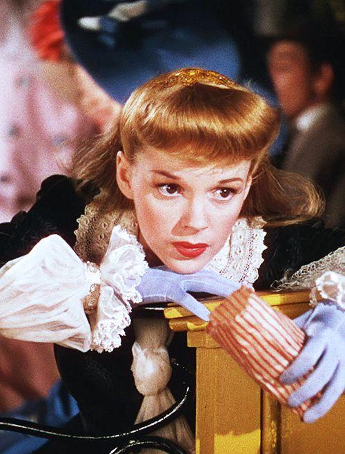 "Judy Garland in ""Meet Me in St. Louis"", 1944  Keith Harrison via Fernanda Trigueiro onto Judy Garland"