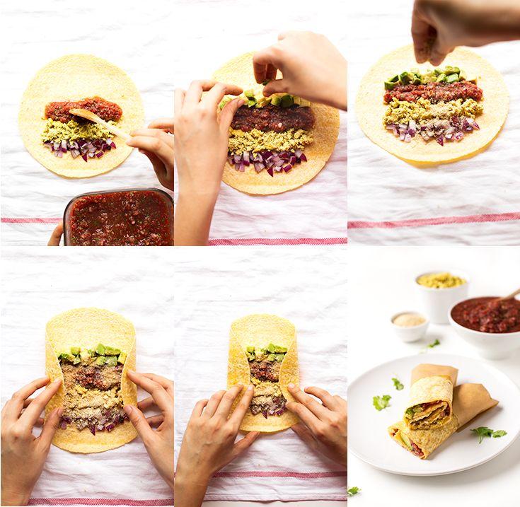Vegan Breakfast Burritos | http://simpleveganblog.com/vegan-breakfast-burritos/