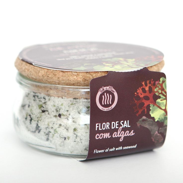 Flor de Sal Mix de Algas