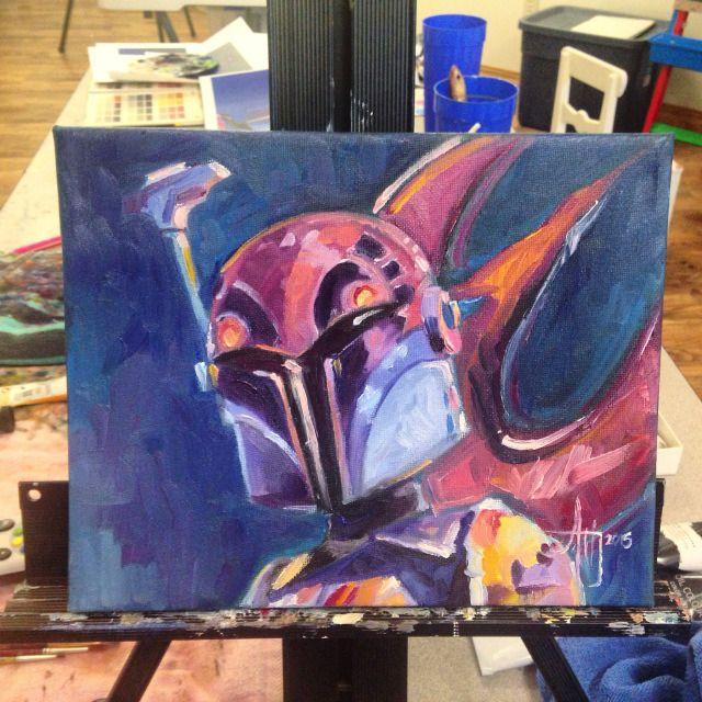 April Heather's Star Wars Painting Project, Sabine Wren