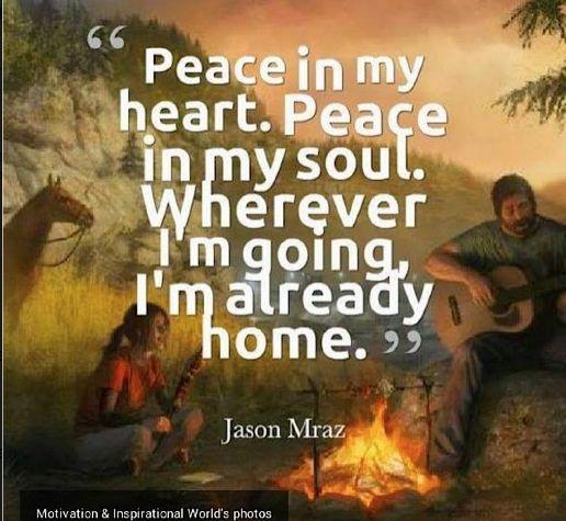How do you find #peace?  #lifecoaching #gratitude