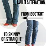 Wie man Jeans einsäumt