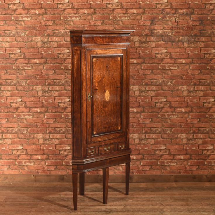 Antique Corner Cabinet on Stand, Georgian Oak, Cupboard, English, c.1760 - Best 25+ Antique Corner Cabinet Ideas On Pinterest Crown