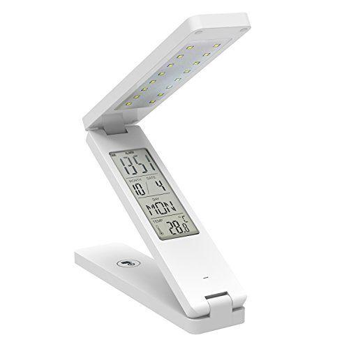 Great LED Schreibtischlampe MaxTronic Solar Tischlampe LED Licht Augenschutz Tragbare Dimmbare Buch Licht