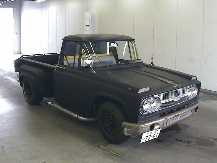 cool old rat rod style toyota stout pickup never heard. Black Bedroom Furniture Sets. Home Design Ideas