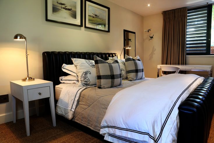 Arc Street: Downstairs bedroom. FIREFLYvillas, Hermanus, 7200 @fireflyvillas ,bookings@fireflyvillas.com,  #ArcStreet #FIREFLYvillas #HermanusAccommodation
