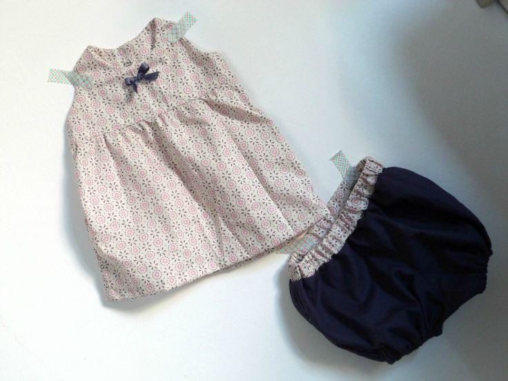 Robe Nina de Petit Citron et bloomer maison