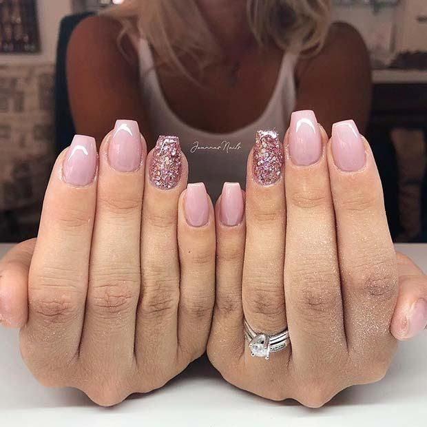 21 Classy Ways to Wear Short Coffin Nails #ShortNails # ...