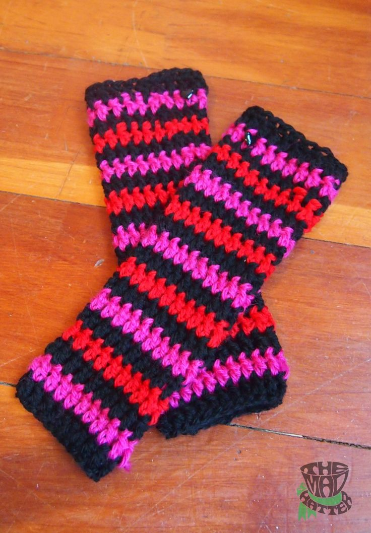 Adults Fingerless Gloves. Made to measure. Email themadhatternz@gmail.com