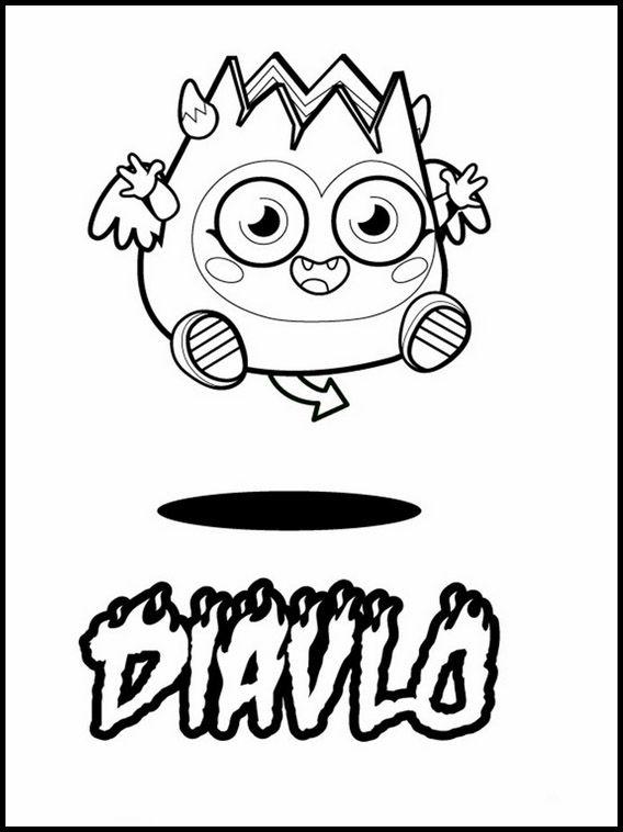 Moshi Monsters 2 Printable Coloring Pages For Kids Ausmalbilder Zum Ausdrucken Kostenlose Ausmalbilder Malvorlagen Zum Ausdrucken