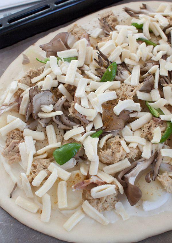 スパイシーツナとポテトのクリームピザ by tomo | レシピサイト「Nadia | ナディア」プロの料理を無料で検索