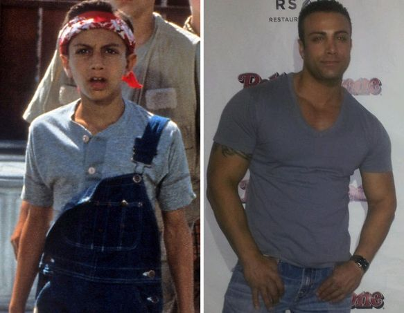 Sandlot cast, before and after omg, there are almost no similarities