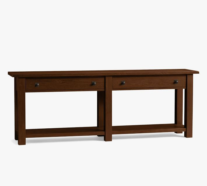 Benchwright 83 Console Table In 2020 Console Table Wood Console Table Reclaimed Wood Console Table
