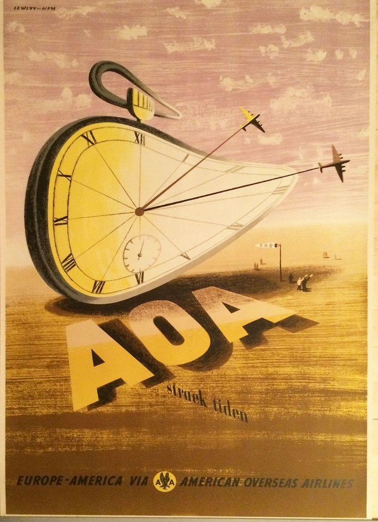 Jan Lewitt George Him Aoa Straek Tiden Poster For American