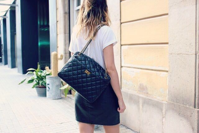 Chanel Camera Reissue Aged Leather Black color | www.cblbags.com