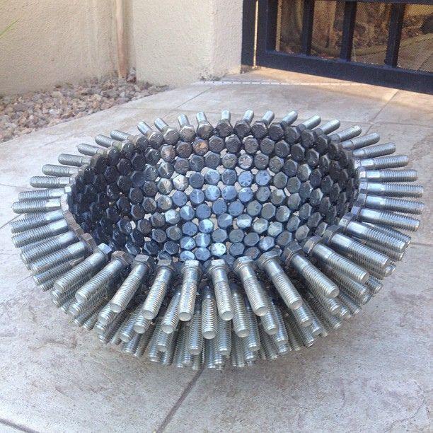 Barry Ferich Ferric Creations art #metal #sculpture #art #recycled #sale #decor #steel #welding #upcycled #artist #fineart #decorator #wallart #new #interior #design #diy #fine #auto #car #custom #fire #firepit #firepot #outdoor #home #decor