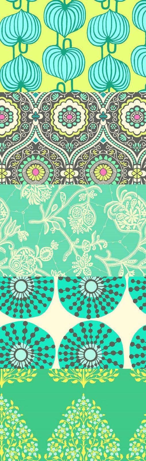 Amy Butler Fabric pieces