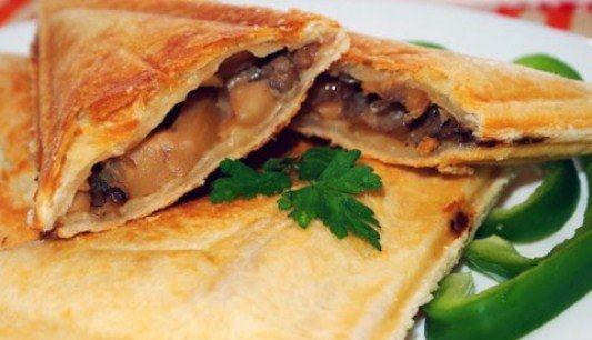 Рецепт сэндвича с грибами на скорую руку. Закуски на скорую руку