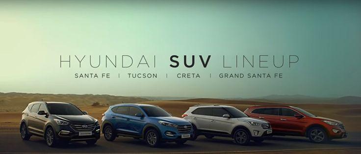 New Hyundai SUV lineup TVC flaunts four Cars