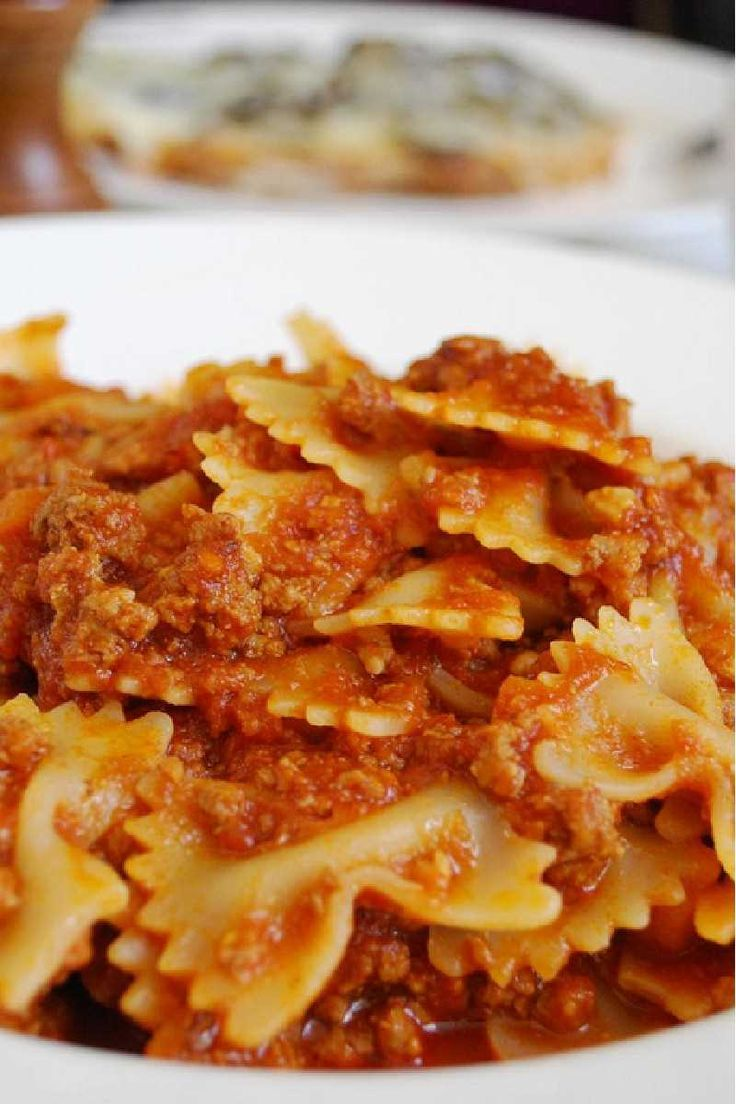 Bow Ties with Sausage, Tomatoes and Cream Recipe