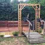 Repurposed Wood Pallets Patio Garden Terrace