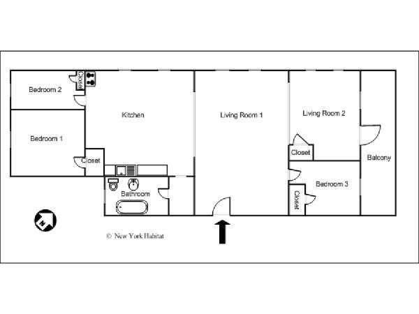 33++ Three bedroom apartment nyc ideas