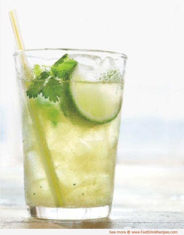 Cilantro limeade drink recipe non alcoholic drink for Refreshing drink recipes non alcoholic