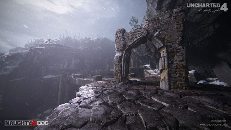 ArtStation - Uncharted 4 - Scotland Escape, Jacob Norris