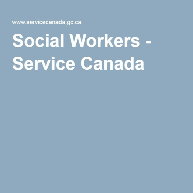 social work in canada For the purpose of this entry, social welfare history encompasses the evolution of social policies and the social welfare system, as well as the profession of social work and those institutions that are associated with either also for the purpose of this entry, social welfare and social policy are.