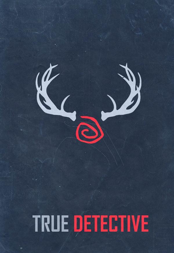 True Detective (2014–) Season 1 ~ Minimal TV Series Poster by Guilherme Zanettini #amusementphile