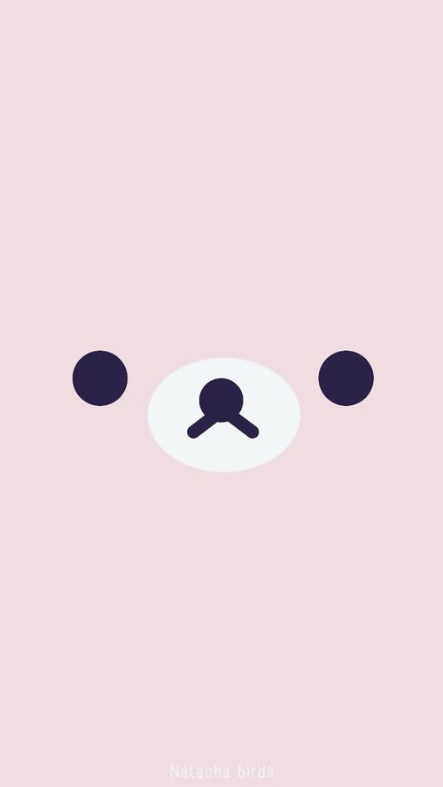 wallpaper, pink, and rilakkuma image (Cool Pictures For Wallpaper)
