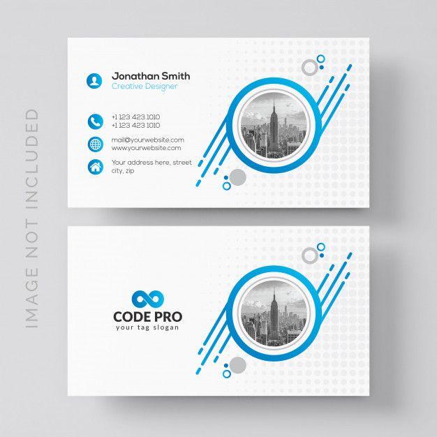 Creative Modern Business Card Business Card Design Creative Fun Business Card Design Modern Business Cards