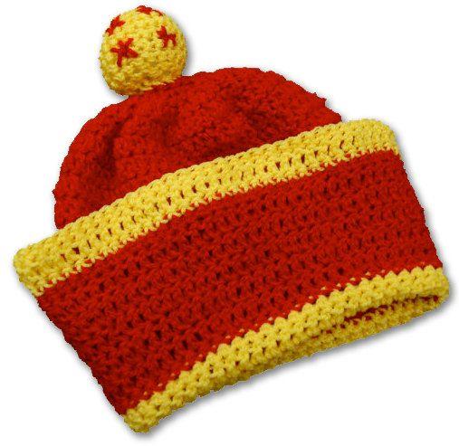 Crochet Hat Pattern - Son Gohan Pattern - DragonballZ Inspired Hat Pattern   2d32d1e9f52b