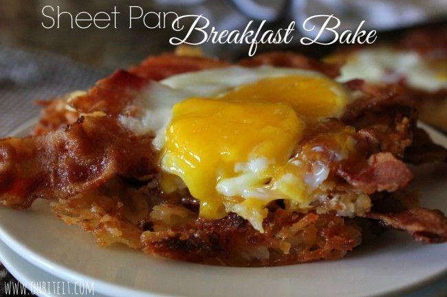 ~Sheet Pan Breakfast Bake!