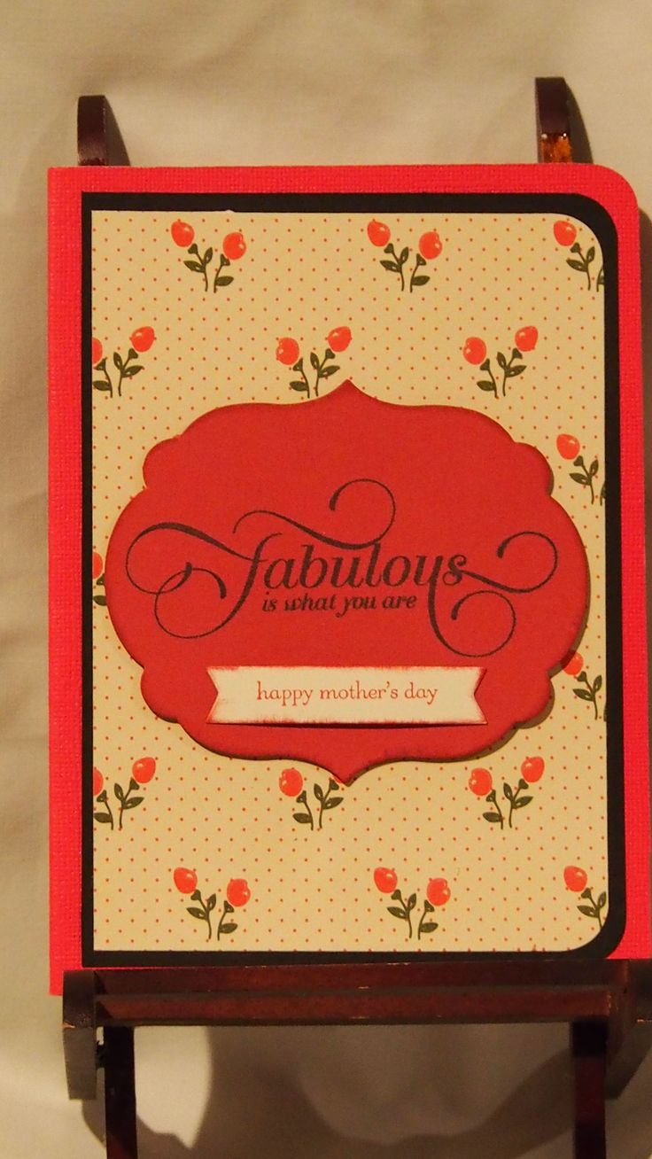 So loving the colours we offer this time of the year. Another mothers day card