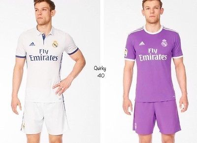 Real #madrid boys football kit shirt and shorts #home&away #2016/2017⚽️, View more on the LINK: http://www.zeppy.io/product/gb/2/282286156085/