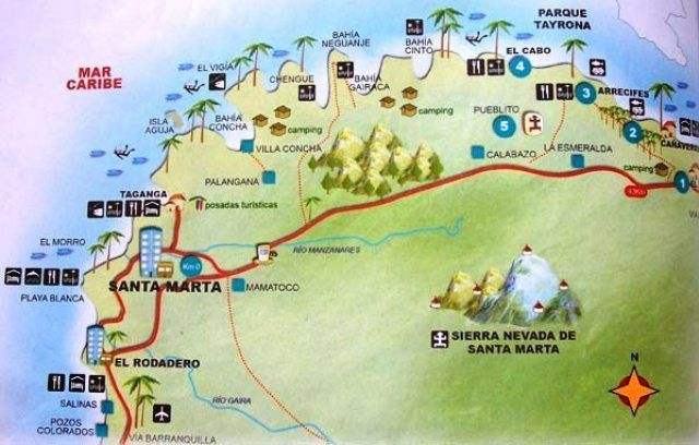 How to Tour Santa Marta, Colombia | Colombia | Colombia map ... Santa Marta Map on cabo de la vela map, port-au-prince map, armenia map, vancouver british columbia map, la paz map, cartagena map, maputo map, hanoi map, uyuni salt flats map, salento colombia map, caracas map, moscow map, pereira map, guatape map, florencia map, oslo map,