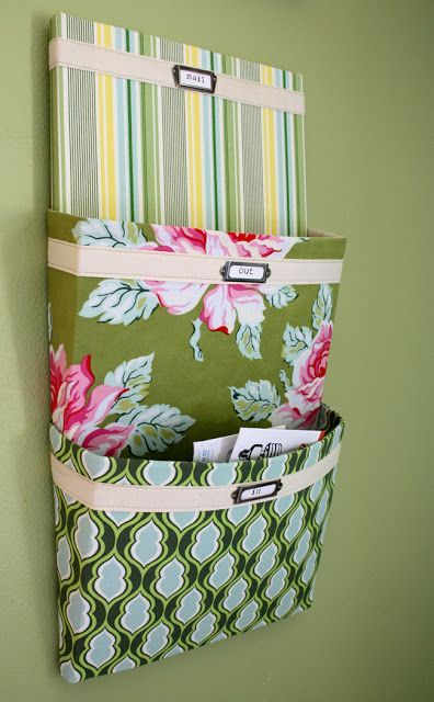Top 20 DIY Home Organization Projects - Mail Organizer Great to keep assignments and forms organized too!! #dormnation