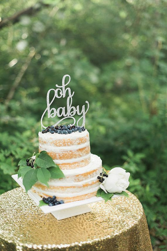 Oh Baby Cake Topper, Gender Neutral Reveal Party, Glitter Decoration,  Welcome Little One, He Or She, Miss Or Mr, Beau Or Belle,Baby Girl Boy
