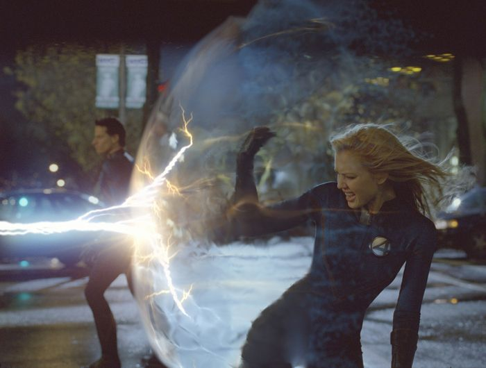 Jessica Alba in a scene of movie Fantastic Four