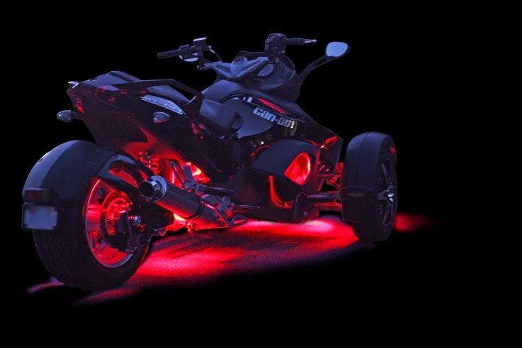 Cheap Rims Packages >> Can Am Spyder LED Accent Lighting | Spyders | Pinterest | Can am spyder, Can am and Lighting