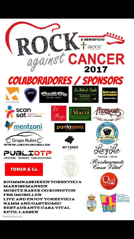 Salvador artesano zapaterías colaborador del Rock Against Cancer a beneficio de la asociacion española contra el cáncer