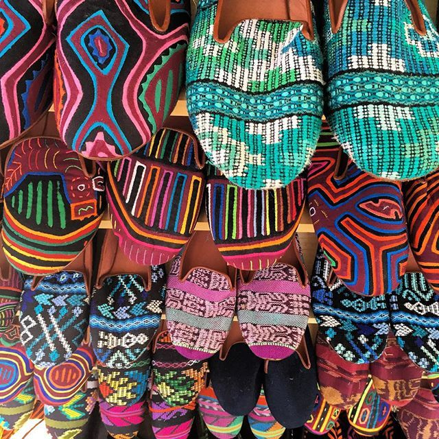 The magical, mystical world of textiles! So much inspiration for our Guate Boots <3